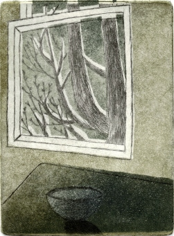 Apt. #2 Etching 6in x 4.5in 2008 edition size: 4