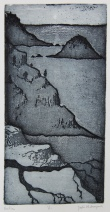 Pacifico Etching 11.5in x 6in 2012 edition size: 11