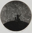 Celestial Happening Etching 5in diameter 2008 edition size: 20