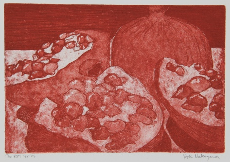 The POM Series Etching 6in x 9in 2008