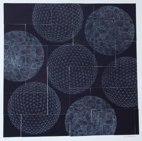 Grid Etching 15.5in x 15.5in 2015