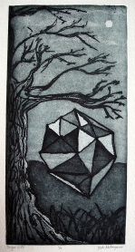 Sugar Lift Etching 11.5in x 6in 2012 edition size: 9