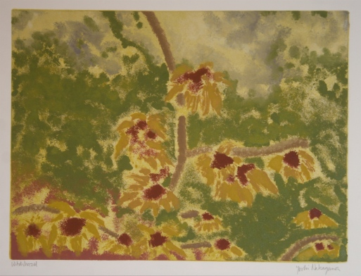 Witchhazel Monotype 9in x 12in 2007