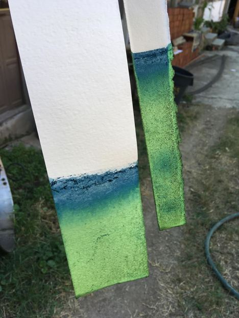 The color of indigo before oxidation